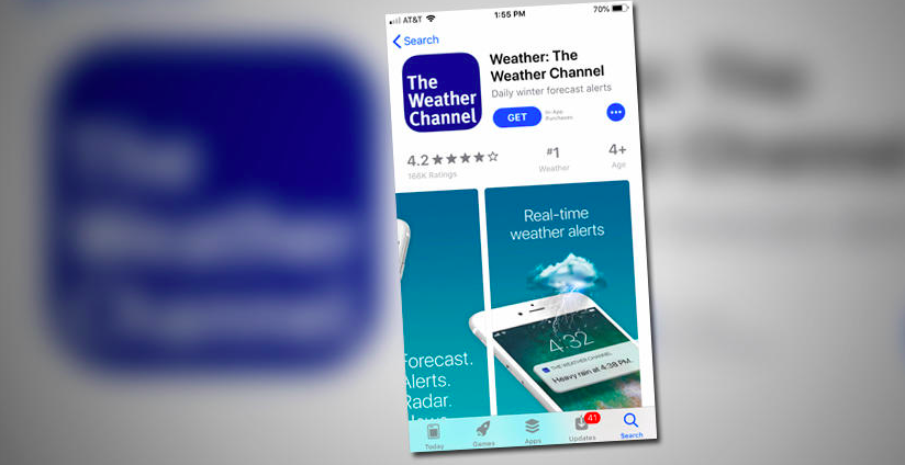 Lawsuit alleges Weather Channel App sells users' personal info