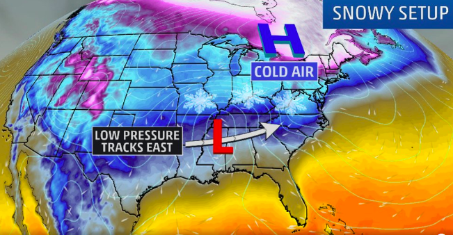 Breaking:  Winter Storm Gia Expected to Bring Weekend Snow To Wide Swath of U.S.