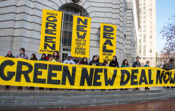 Democratic Candidates Get Behind the Green New Deal