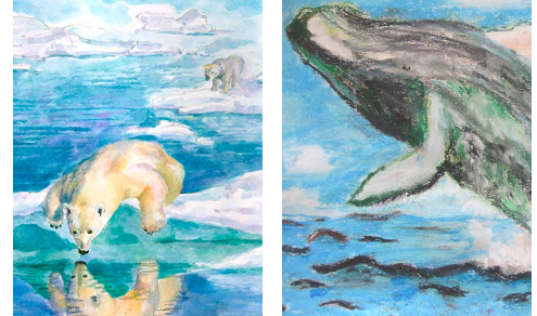 One Kid Thing:  Marine Wildlife Art Contest – Enter by Jan 31!