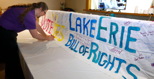 "Lake Erie Now Has a ""Bill of Rights"""