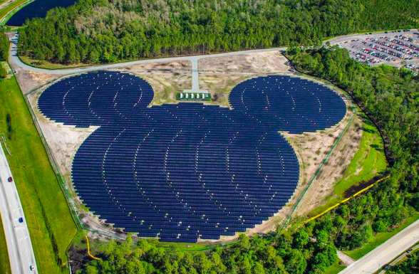 One Mickey Mouse Thing: Disney World Goes Solar