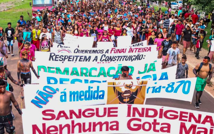 Brazilian Government Plans Mining on Native Lands