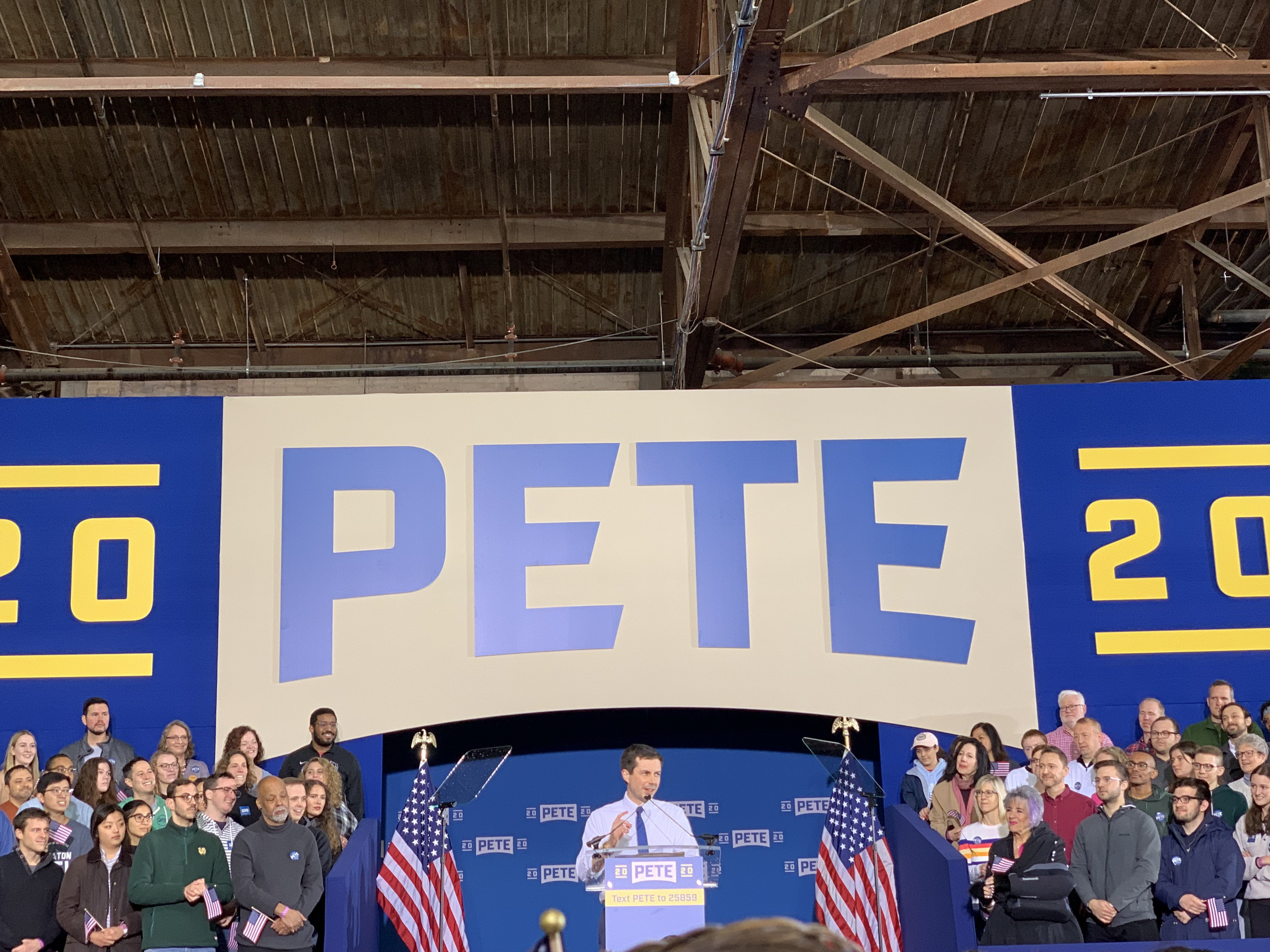 Mayor Pete in for 2020, in on climate action
