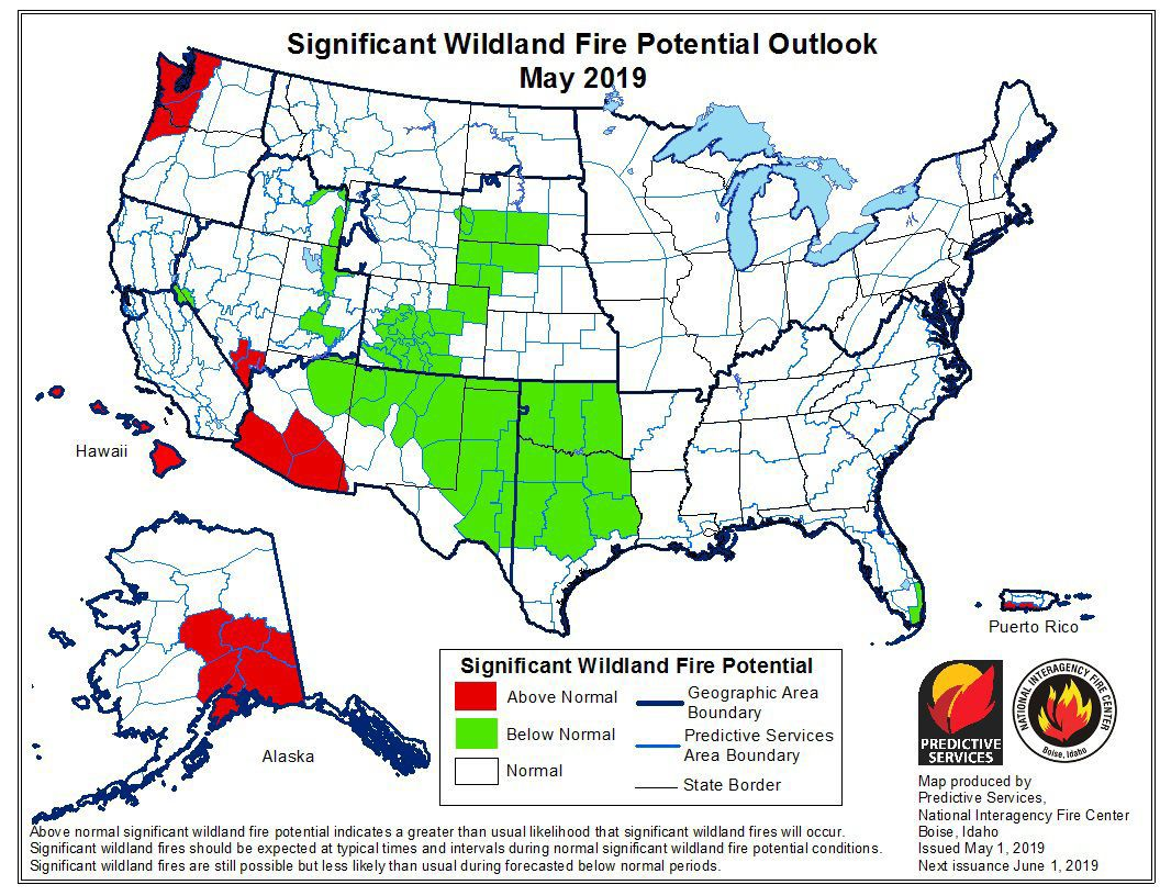 Despite wet winter, 2019 wildfire season still a threat in the West
