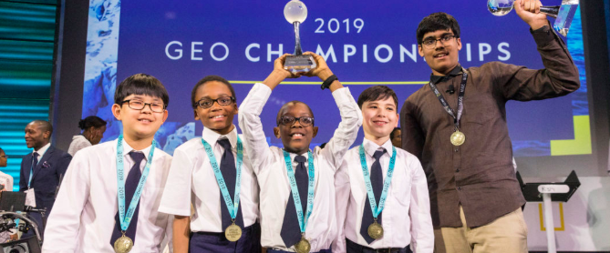 One Smart Kid: Winner of the National Geographic GeoBee