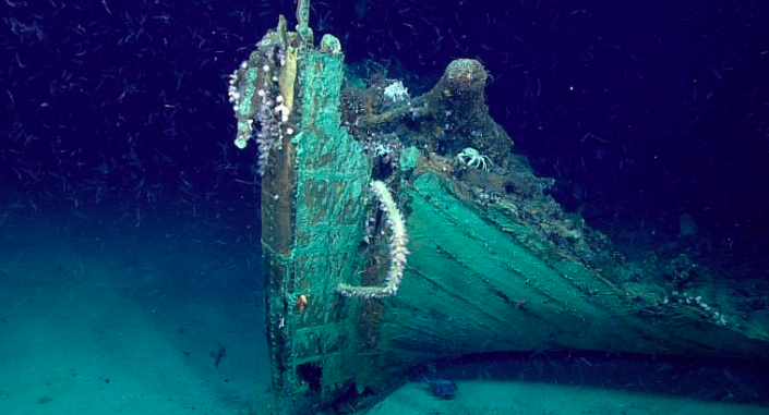 Shipwreck Accidentally Discovered When Testing New Equipment