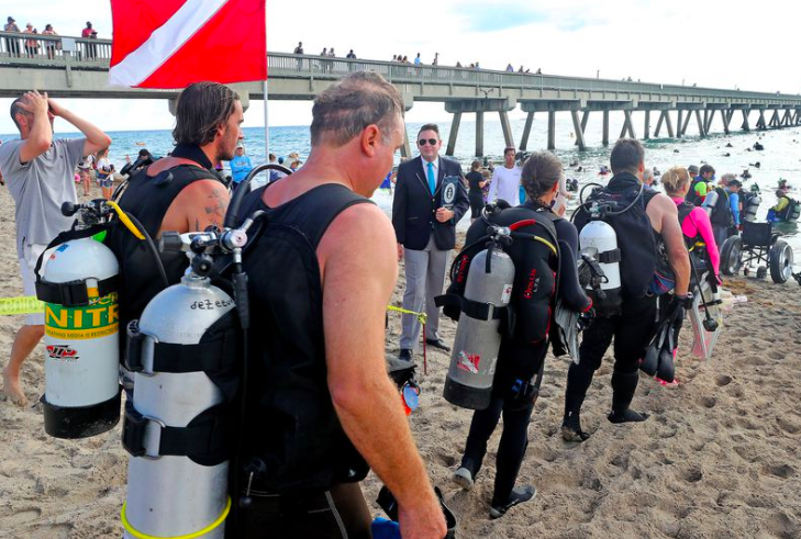 One Cool Thing: Florida Divers Set World Record for Ocean Clean Up