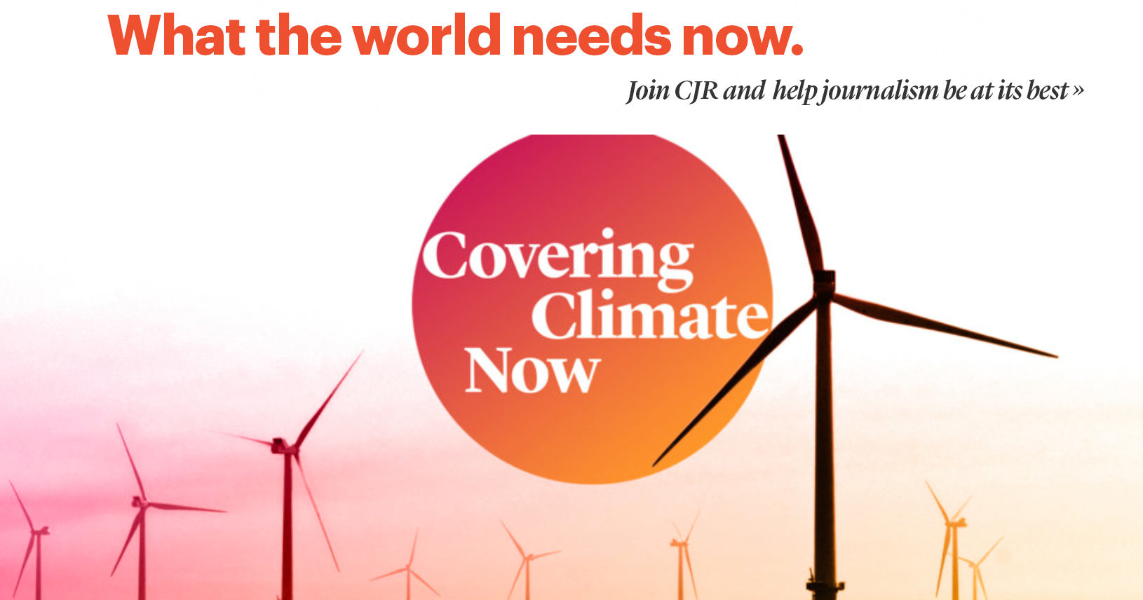 A Bold New Commitment to Covering Climate