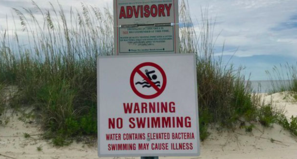 All 21 Beaches in Mississippi Closed Because of Toxic Algae