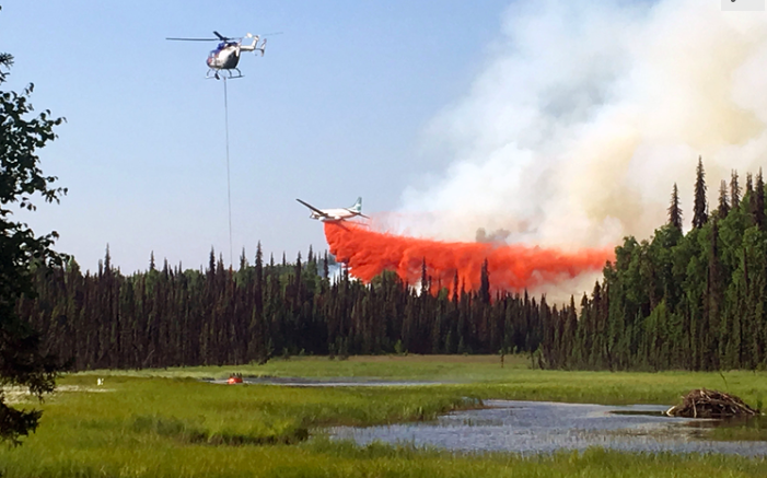 Alaska Burns Due to Vicious Heat Wave