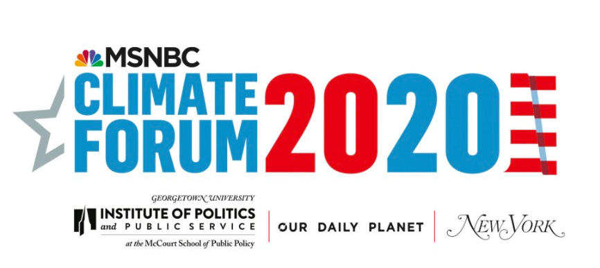 #ClimateForum2020 Announces First Wave of Candidates Participating