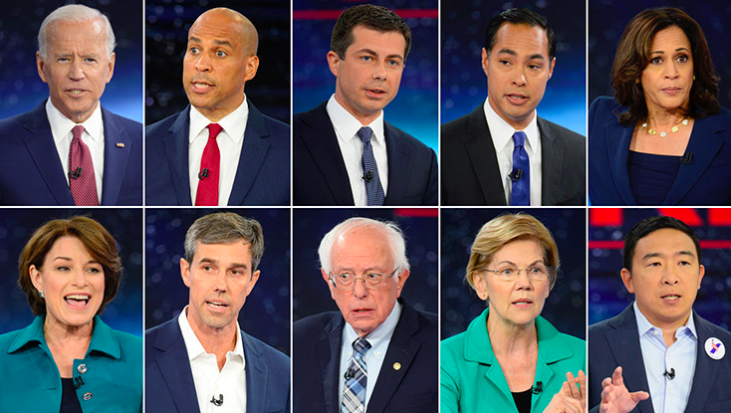 Highlights of CNN Climate Town Hall First Half – Castro, Yang, Harris, Klobuchar and Biden