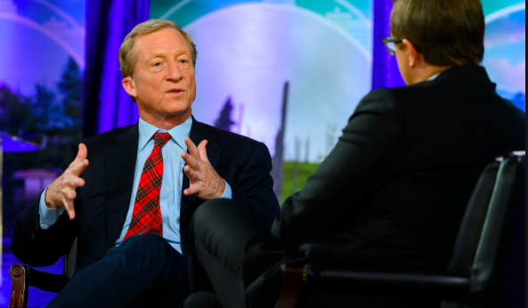 Steyer Outlines Robust International Climate Plan