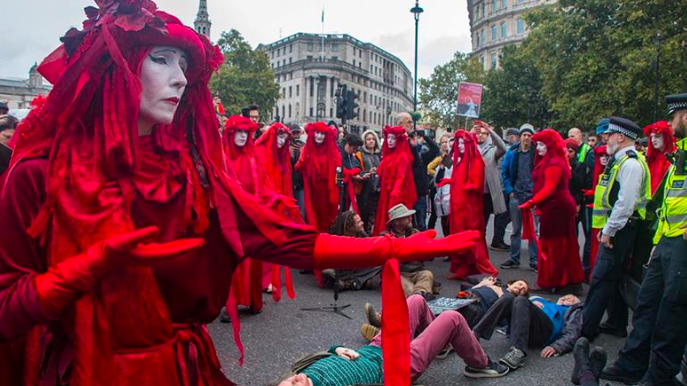 Extinction Rebellion Stages Climate Protests — NY, London and Other Major Cities Snarled