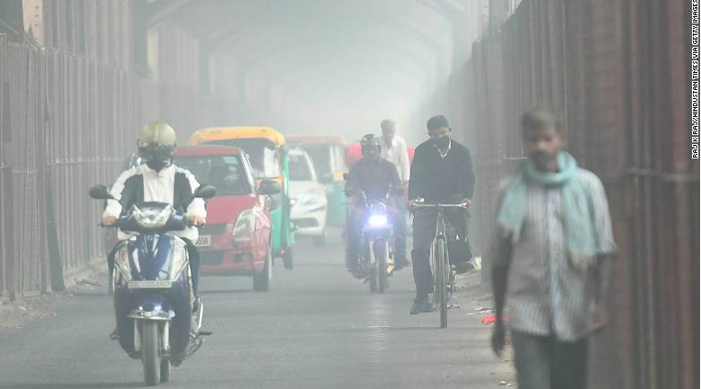New Delhi's Air Is So Bad It's a Health Emergency