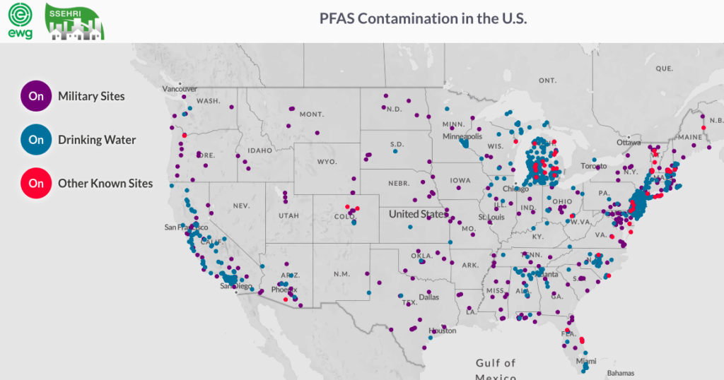 As Many as 100 Million Americans Likely Have PFAS in their Drinking Water