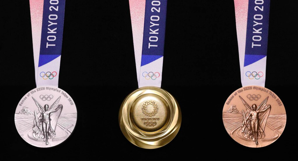 One Gold Thing:  Silver and Bronze too — Olympic Medals Made From Recycled Electronics