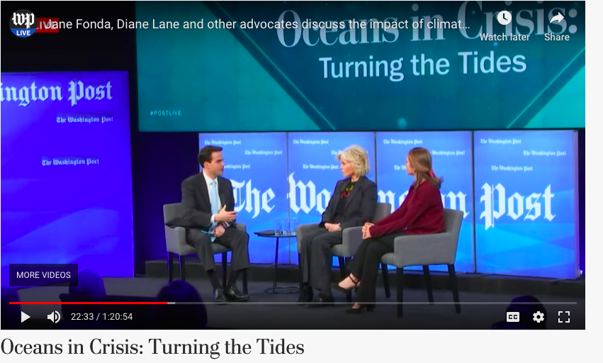 Washington Post Live Shines a Light on the Ocean