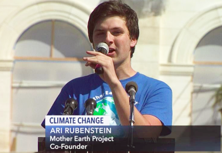 Interview of the Week: Ari Rubenstein, Fridays for the Future and Mother Earth Project