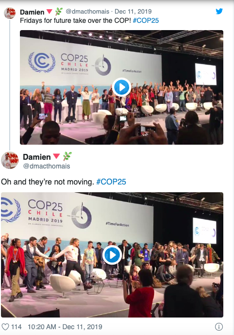 At COP 25, Young People Had the Force With Them