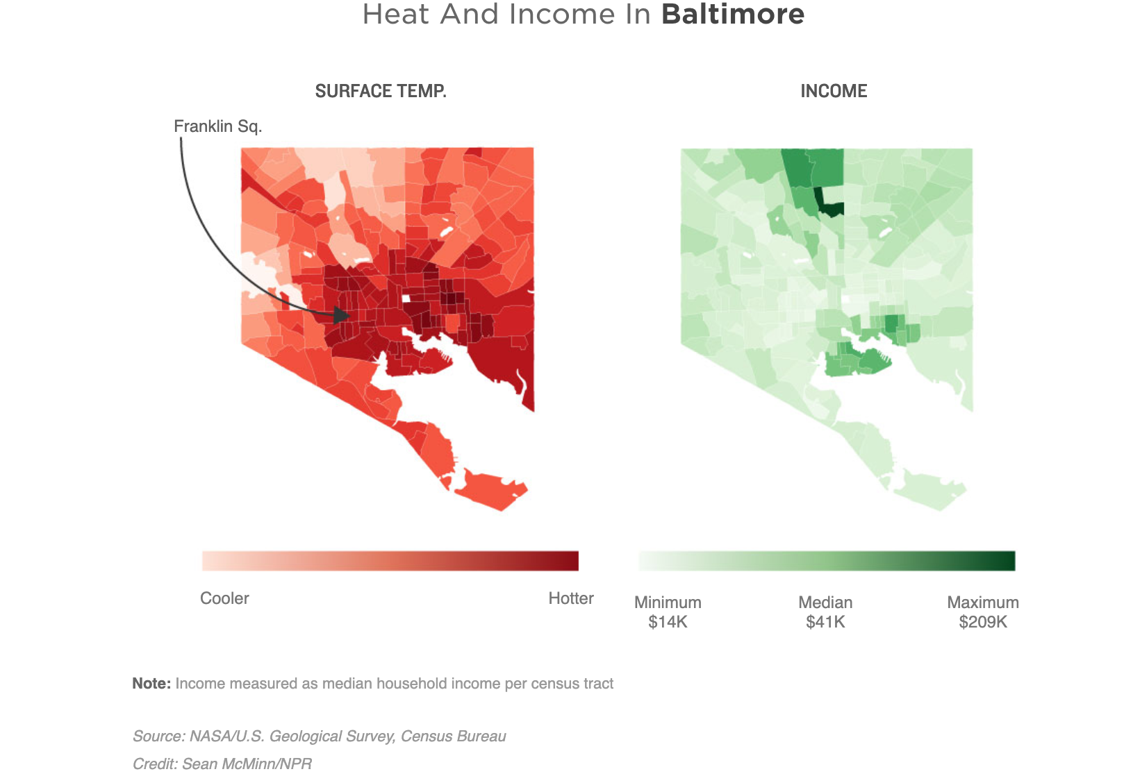 Urban Heat Islands Disproportionately Affect Black Neighborhoods