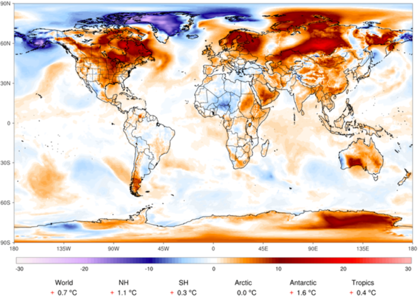 Climate Change Impacts Daily Weather On Global Scale