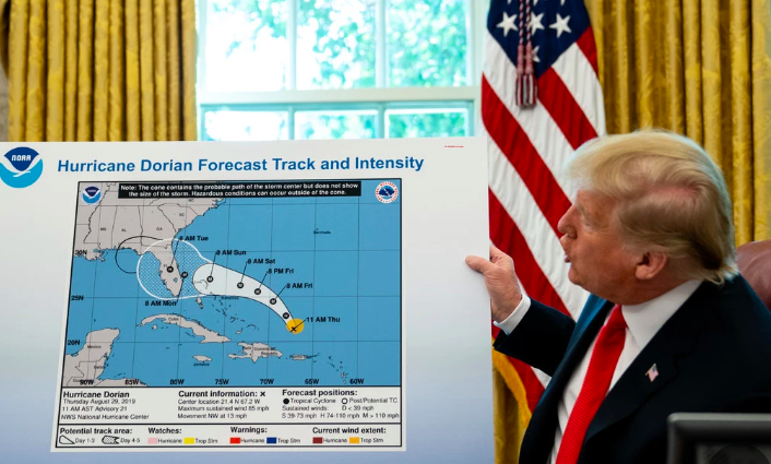 "Sharpie Gate In Sharper Focus —  Emails Show Damage From Trump ""Forecast"" Map"