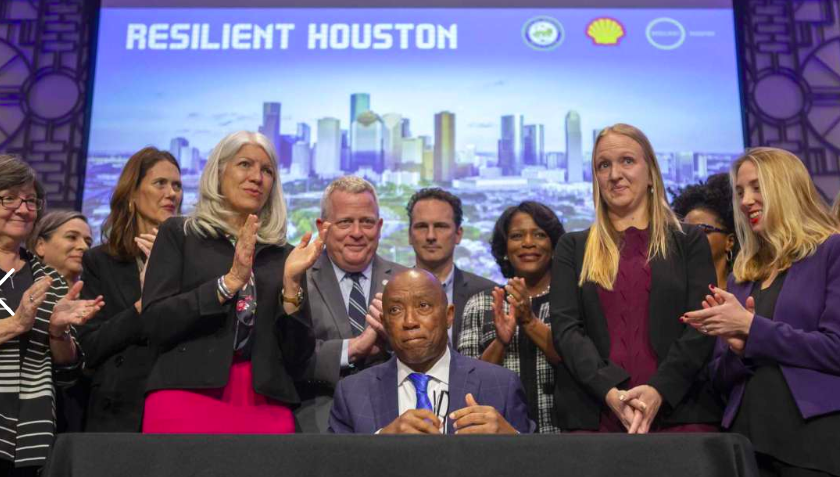 Houston Launches Resilience Plan To Prepare For Its New Normal