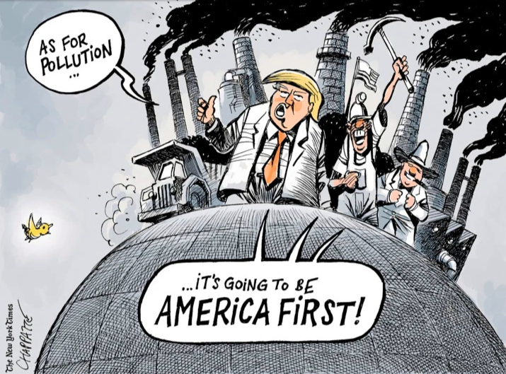 """Honoring"" President Trump – The Worst Environmental President in U.S. History - Our Daily Planet"