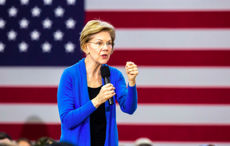 Elizabeth Warren's Contribution to Dems:  Policies Like Her Latest On Wall Street and Climate