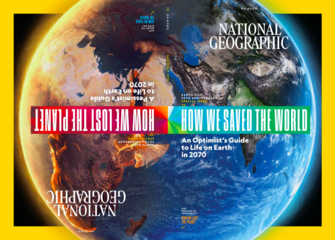One Future Thing: National Geographic Asks What Will Earth Day 2070 Look Like?