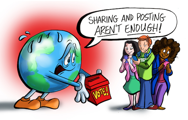 Don't Just Tweet, VOTE: The Real Lesson of Earth Day