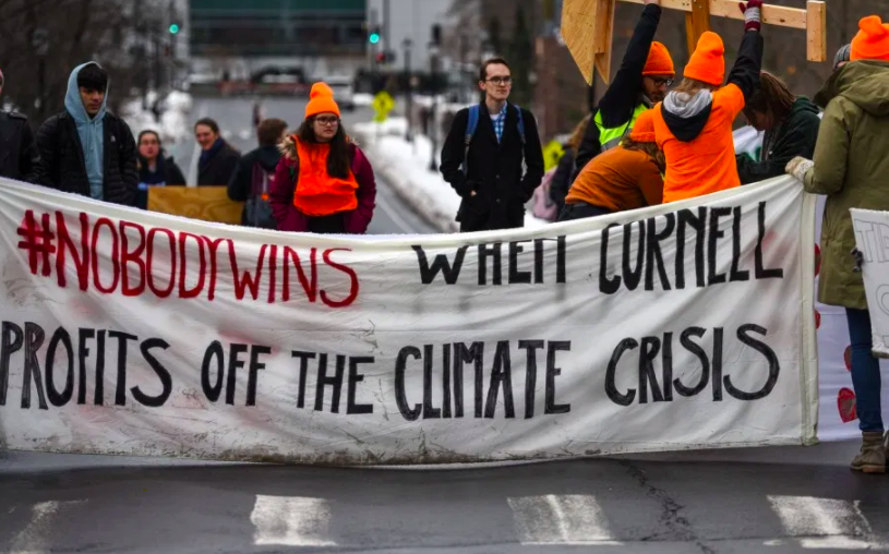 University Divestment Movement Grows – Cornell and UC System Are Latest Wins