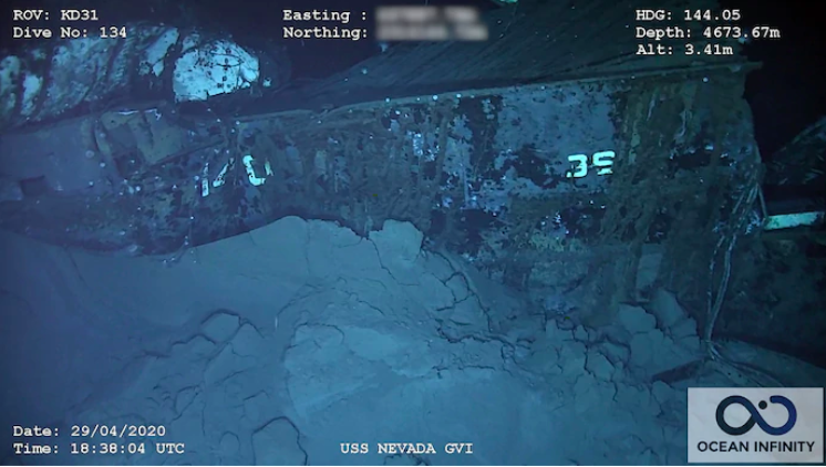 One Found Thing: The Wreck of the USS Nevada