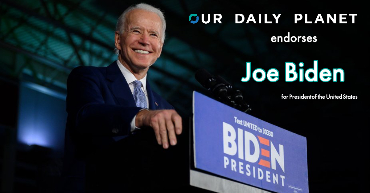Look Folks, There Is Only One Choice For President in 2020 – Joe Biden