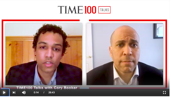 "Senator Cory Booker On Climate Injustice: It's ""An Assault on Black Bodies"""