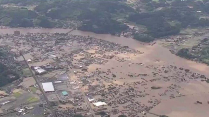 Deadly Flooding Hitting Japan Just As It Was Beating COVID-19