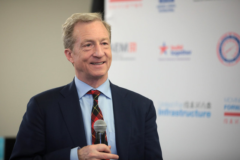 Tom Steyer: California Can 'Move Forward Environmentally' Despite Pandemic, Heatwave, Wildfire Crises