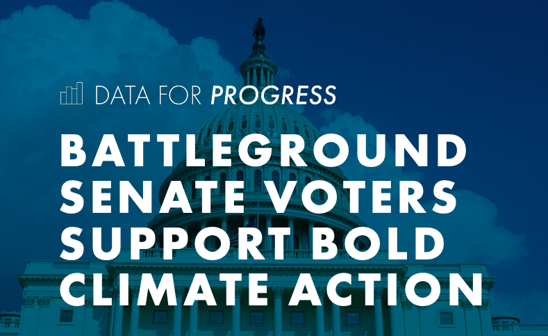 Brand New Polling Shows That Climate Moves Voters in Four Key States/Senate Races