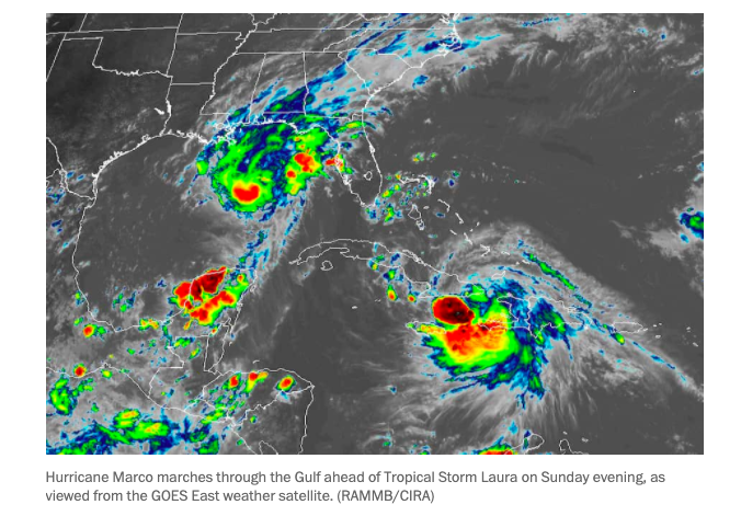 Unprecedented: Two Major Storms In Succession Will Pound Gulf Coast