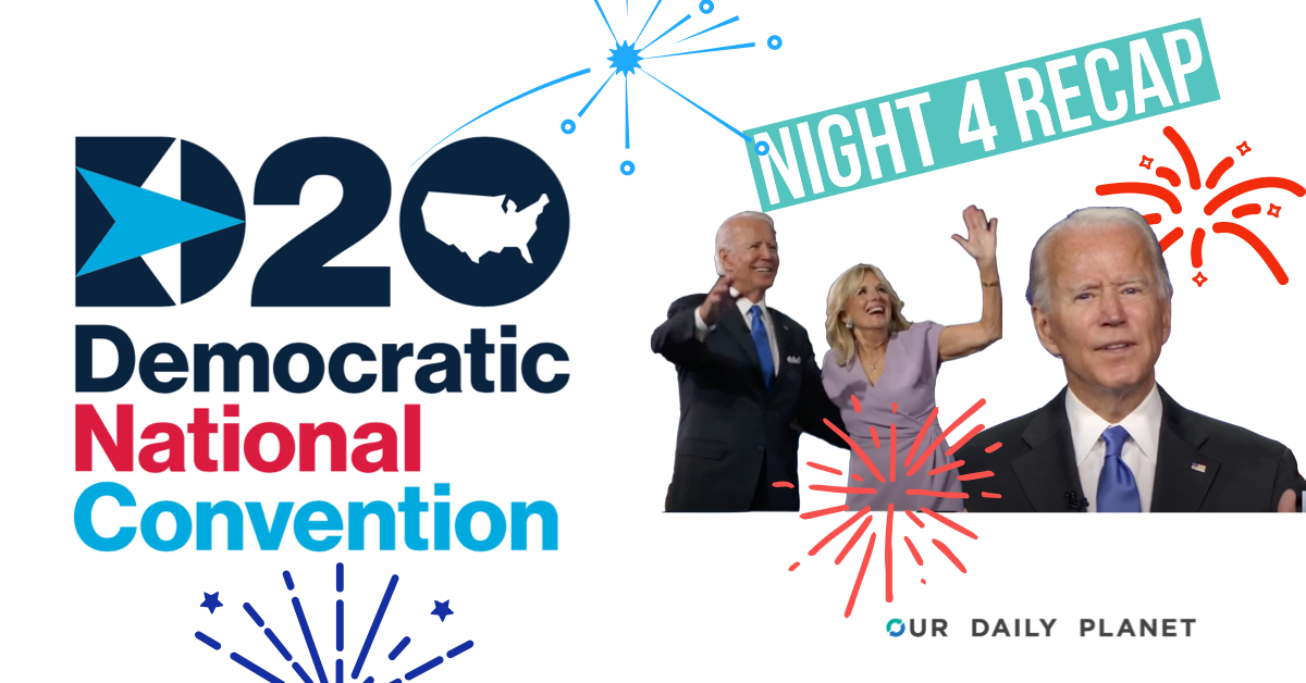 DNC Night 4: Joe Biden's Acceptance Speech Is Infused With the Climate Crisis and Possibilities
