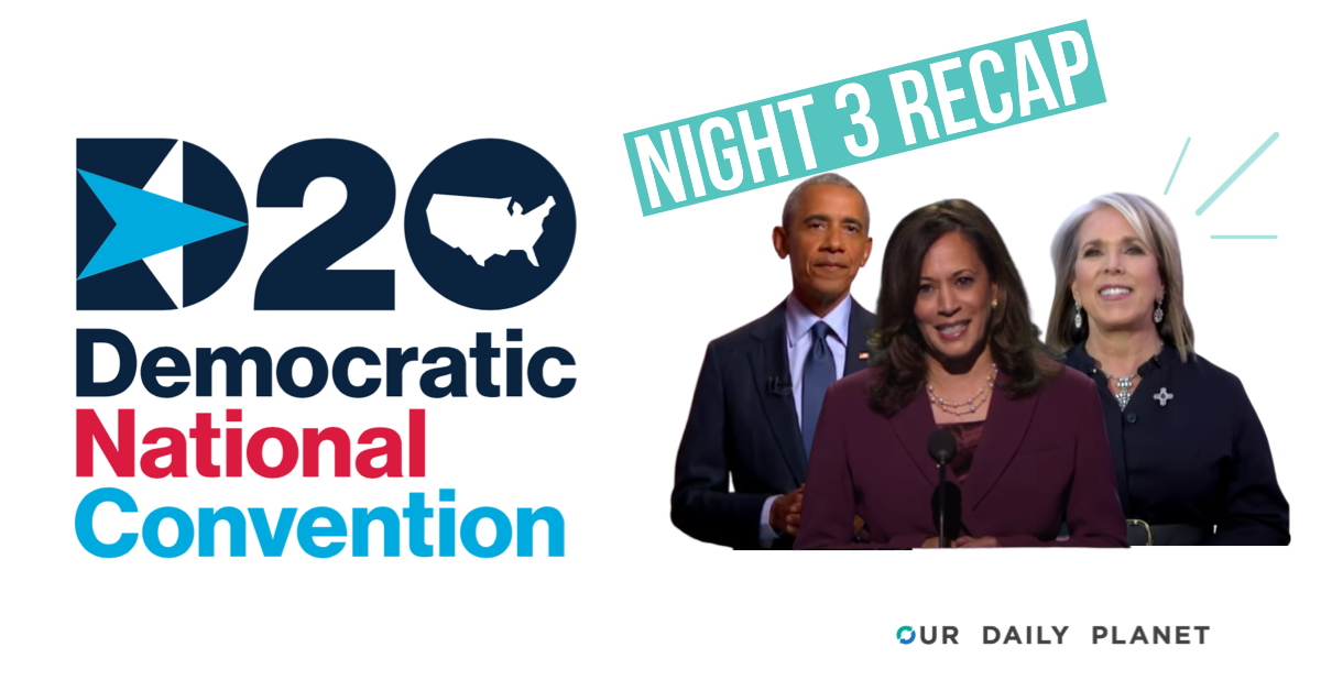 Democratic National Convention Night 3: All In For Climate Action