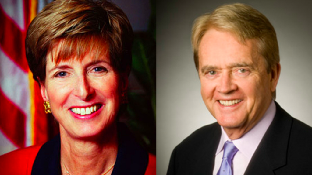 Heroes of the Week: Bill Reilly and Christine Todd Whitman