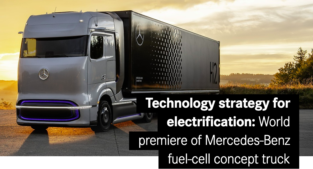 Mercedes Motors Into the Electric Truck Competition, Nikola Under Fire