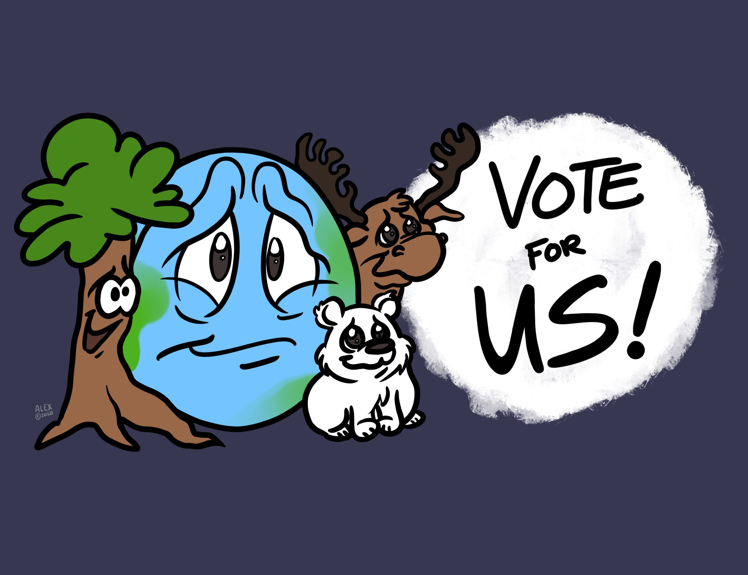Vote for the Planet, It Can't Vote For Itself