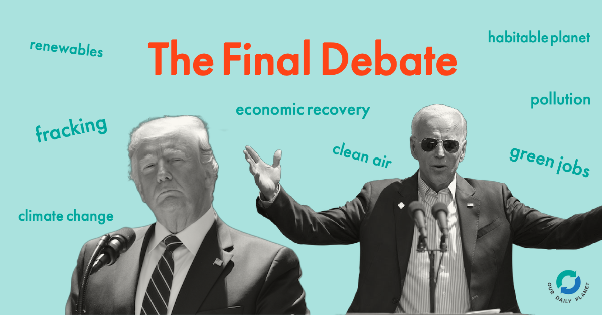 Biden Needs To Go On Green Energy Offensive At Final Debate