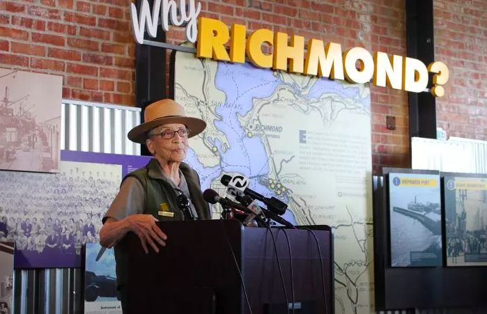 Heroine of the Week: Betty Reid Soskin, the Oldest Park Ranger in the U.S.