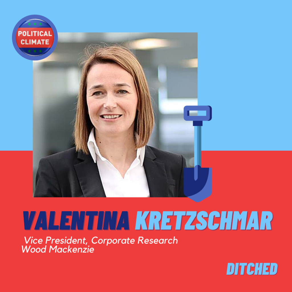 DITCHED: Oil Companies Under Pressure with Valentina Kretzschmar