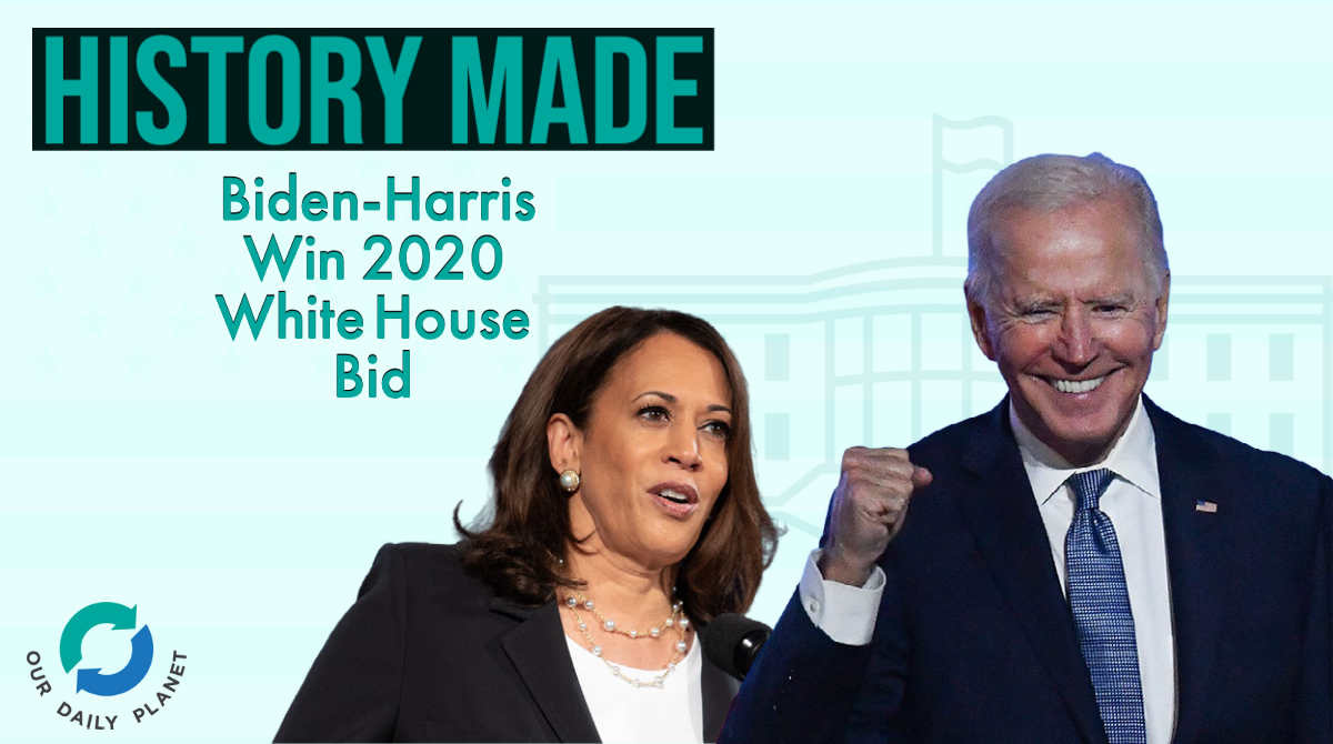 Top Ten Stories of 2020: Biden-Harris' Historic Win